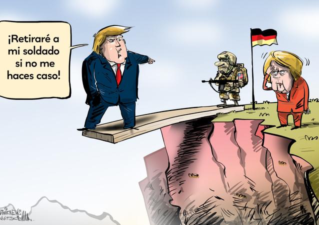Alemania le responde a Trump sobre la permanencia de las tropas de EEUU