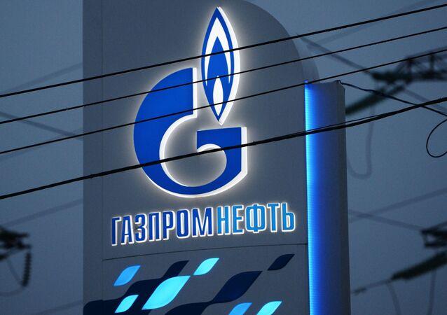 Logo de la empresa rusa Gazprom Neft