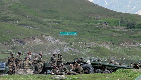 Militares indios en la región fronteriza de Ladakh - Sputnik Mundo
