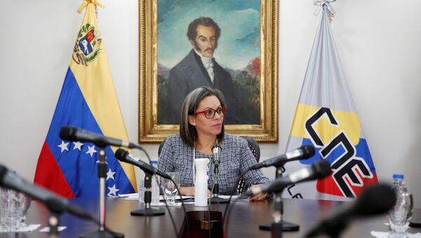 Indira Alfonzo, presidenta del Consejo Nacional Electoral de Venezuela - Sputnik Mundo