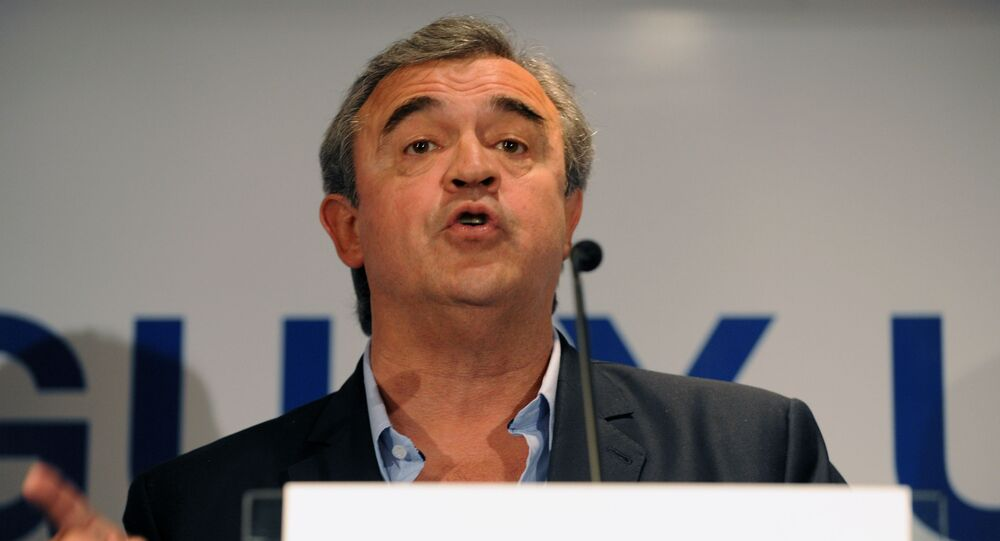 Jorge Larrañaga, ministro del Interior de Uruguay