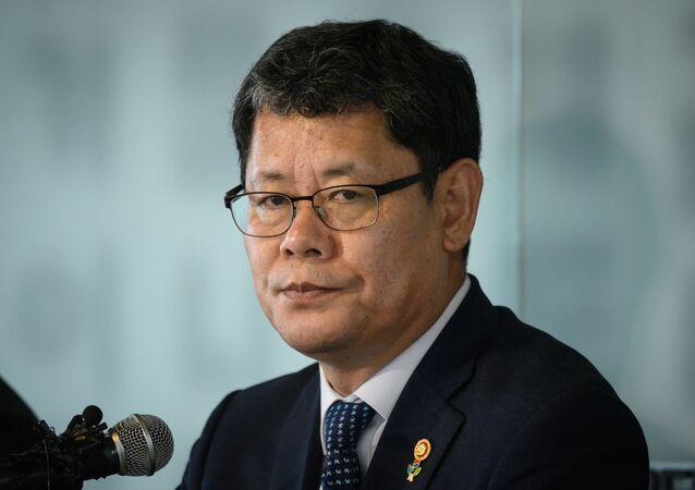 Kim Yeon-chul, el ministro de Unificación surcoreano