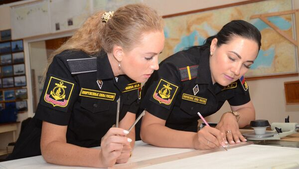 «Женский экипаж» на Черноморском флоте - Sputnik Mundo