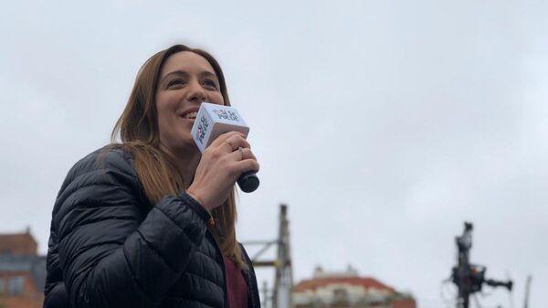 María Eugenia Vidal, exgobernadora de la provincia de Buenos Aires - Sputnik Mundo
