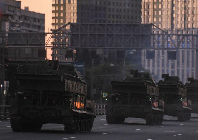 Equipo militar se desplaza a Moscú para participar en el Desfile de la Victoria