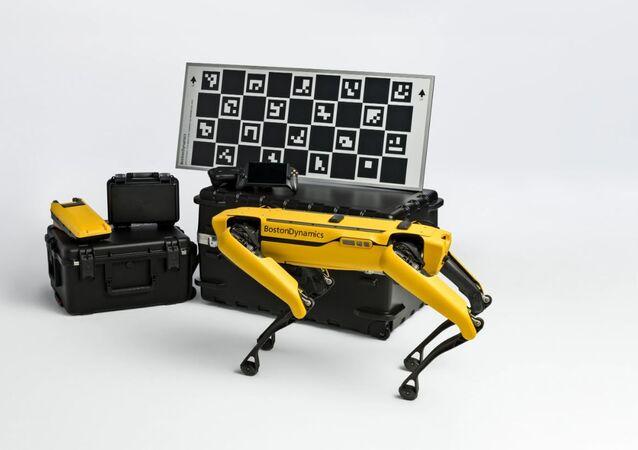 El robot Spot de Boston Dinamycs