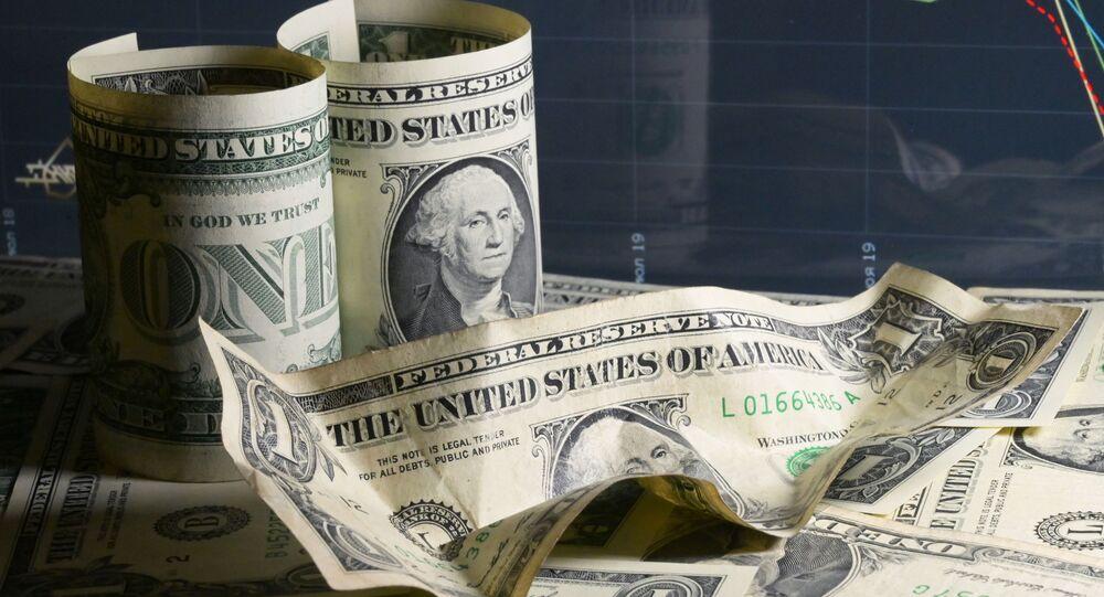 Billetes de dólares de EEUU