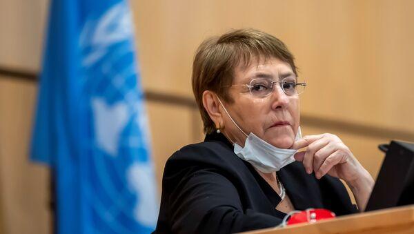 Michelle Bachelet, la Alta Comisionada de la ONU para los DDHH - Sputnik Mundo
