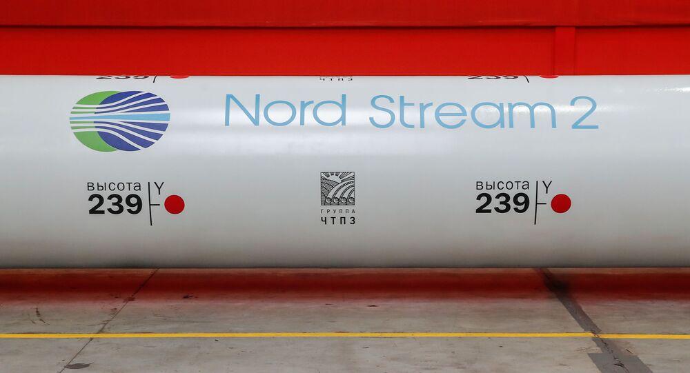 Una tubería del Nord Stream 2