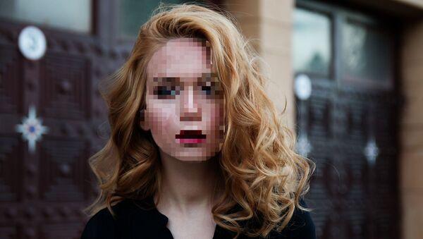 Una persona con el rostro pixelado - Sputnik Mundo