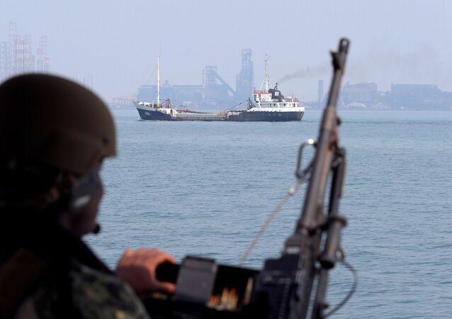 Un barco patrulla Mark VI en EEUU