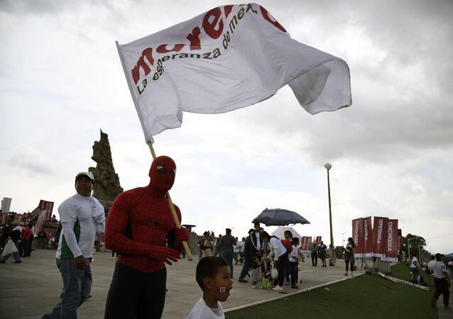 Bandera Morena. La esperanza de México