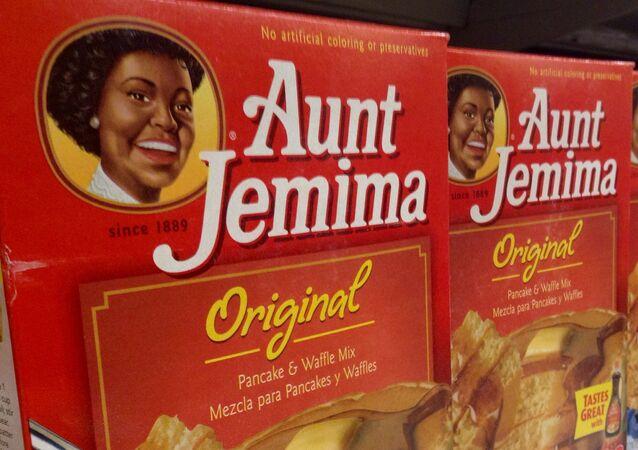 Mezcla para panqueques Aunt Jemima