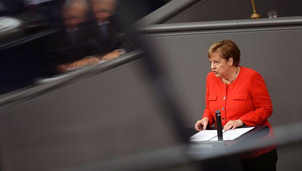 Angela Merkel, la canciller alemana - Sputnik Mundo