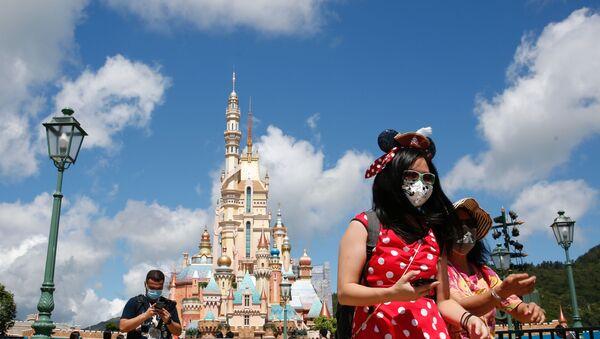 El Disneyland de Hong Kong tras casi 5 meses de inactividad por el COVID-19 - Sputnik Mundo