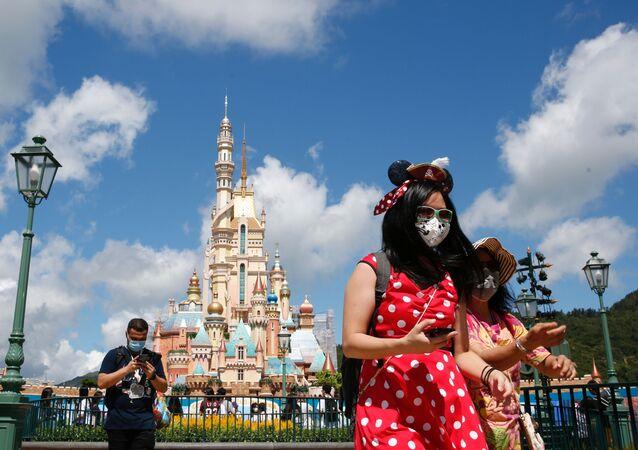 El Disneyland de Hong Kong tras casi 5 meses de inactividad por el COVID-19