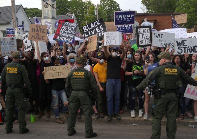 Protestas antirraciales en EEUU (archivo)