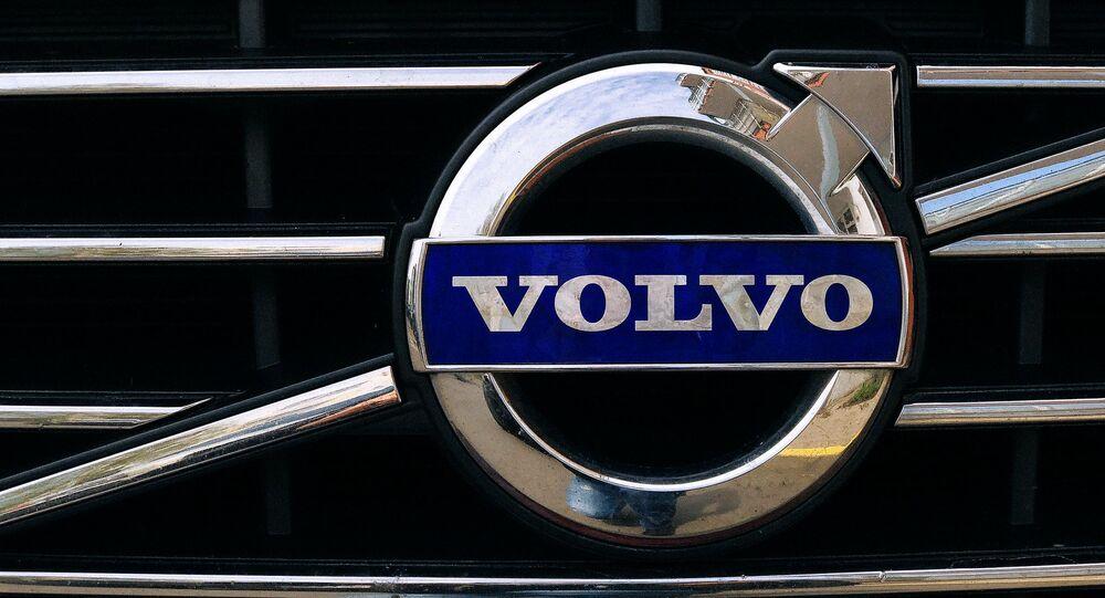 El logo de Volvo
