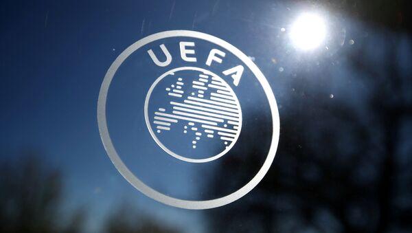 Logo de la UEFA  - Sputnik Mundo