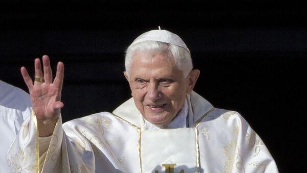El papa emérito Benedicto XVI - Sputnik Mundo