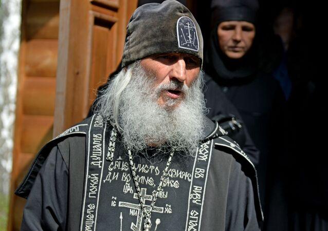 El padre Sergui en el monasterio de Sredneuralsk