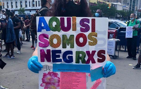 Movilización de latinos y afrodescendientes en Nueva York este domingo 14 de junio - Sputnik Mundo