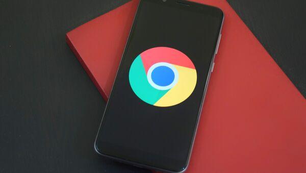El logo de Google Chrome - Sputnik Mundo