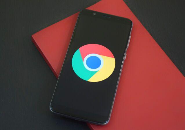 El logo de Google Chrome