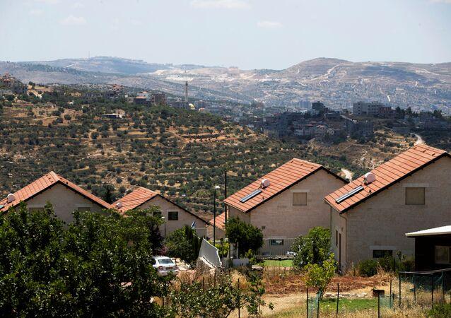 Un asentamiento israelí en la Cisjordania ocupada