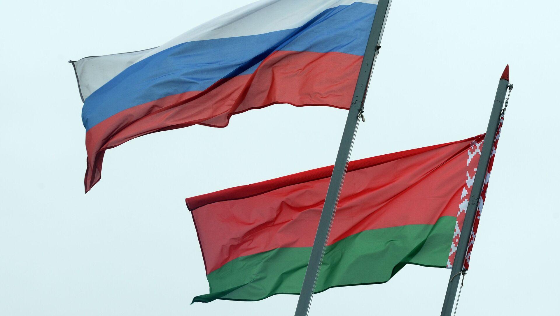 Banderas de Rusia y Bielorrusia - Sputnik Mundo, 1920, 19.06.2020