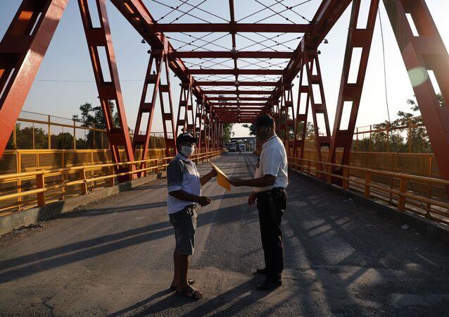 Frontera entre Argentina y Paraguay