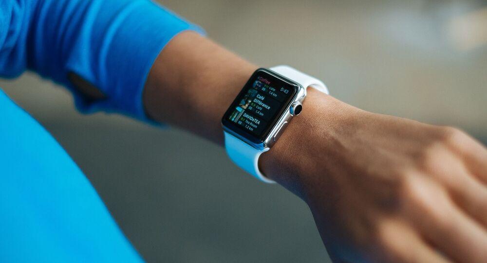 Apple Watch, foto de archivo