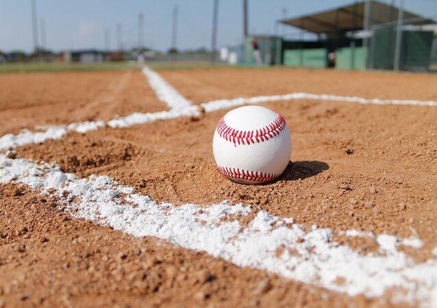 Una pelota de béisbol. Imagen referencial