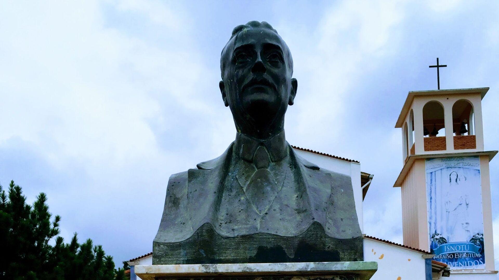 Busto de José Gregorio Hernández en su natal Isnotú - Sputnik Mundo, 1920, 26.04.2021