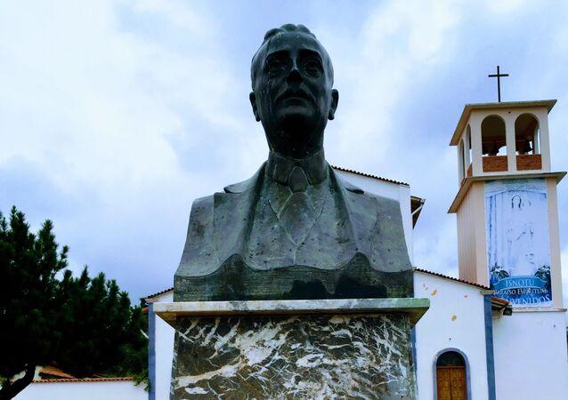 Busto de José Gregorio Hernández en su natal Isnotú