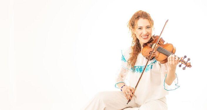 Marianna Kazakova, violinista rusa en Argentina