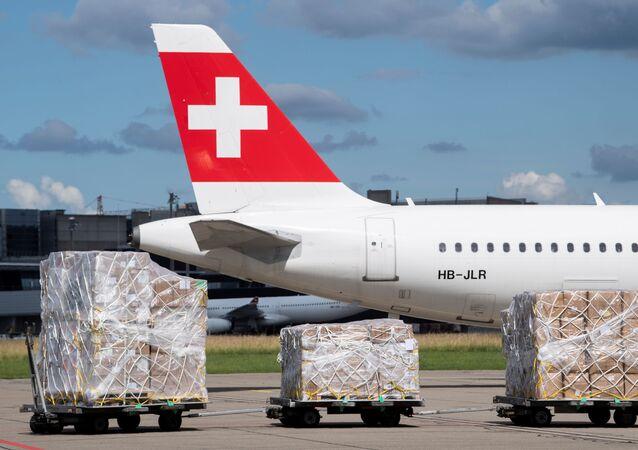 Ayuda humanitaria para Venezuela en Suiza