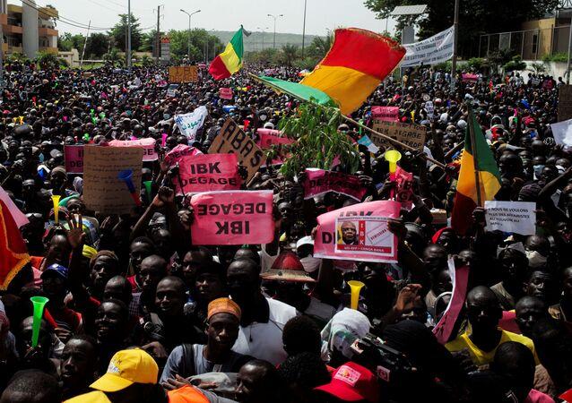 Protestas en Malí