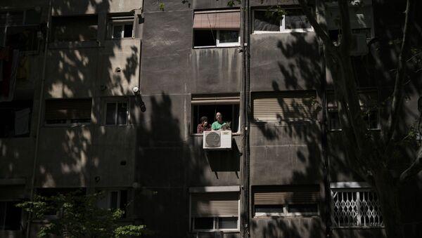 Una residencia para ancianos en Barcelona - Sputnik Mundo