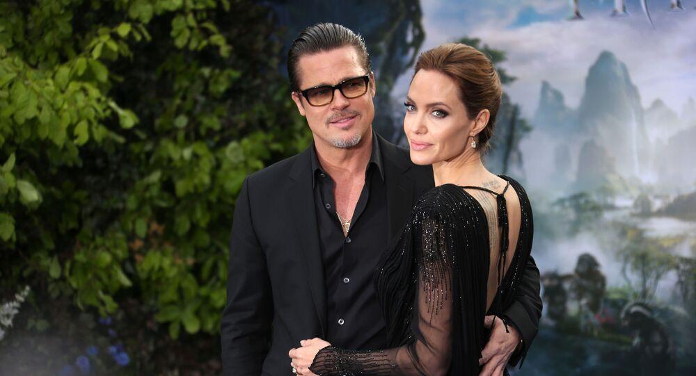 Brad Pitt junto a Angelina Jolie en 2014