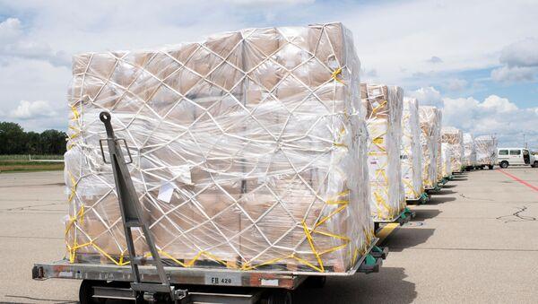 Ayuda humanitaria para Venezuela, imagen referencial - Sputnik Mundo