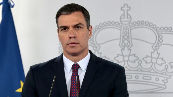 Pedro Sánchez, presidente del Gobierno de España - Sputnik Mundo