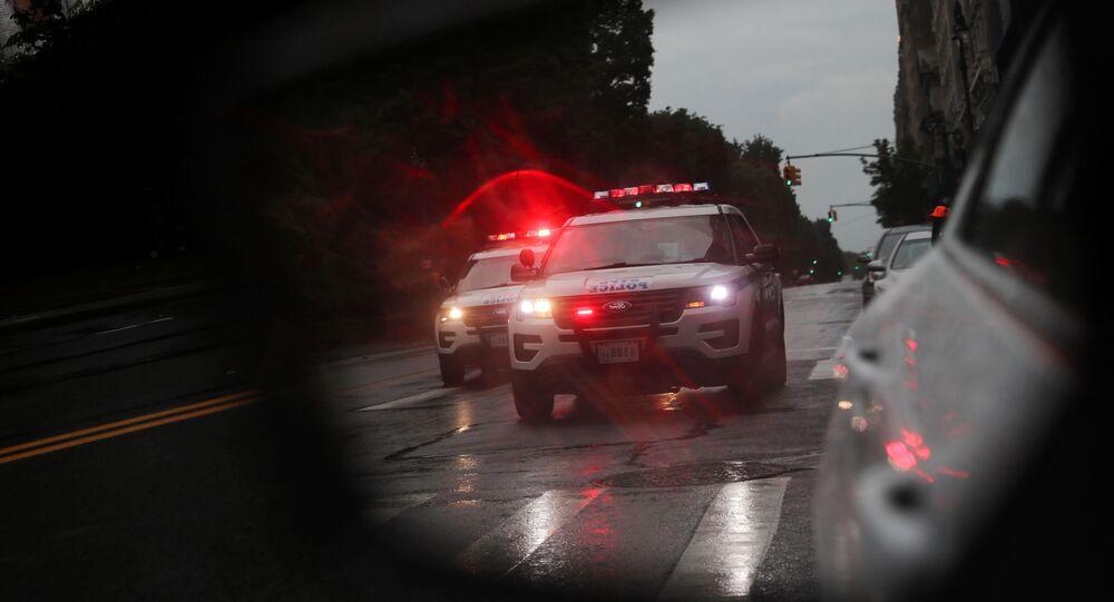 Policía de EEUU (imagen referencial)