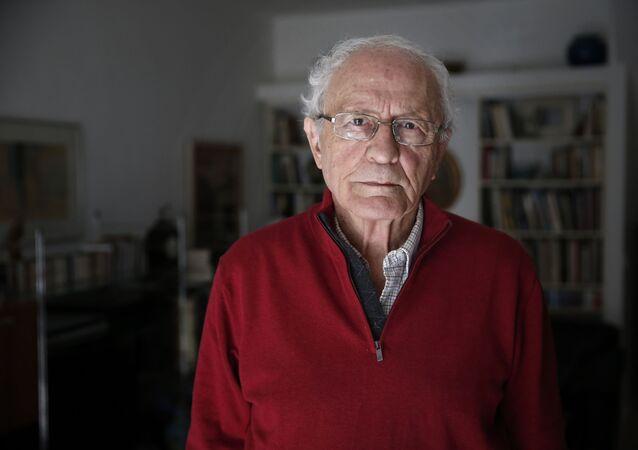 Zeev Sternhell, profesor de la Universidad Hebrea de Jerusalén