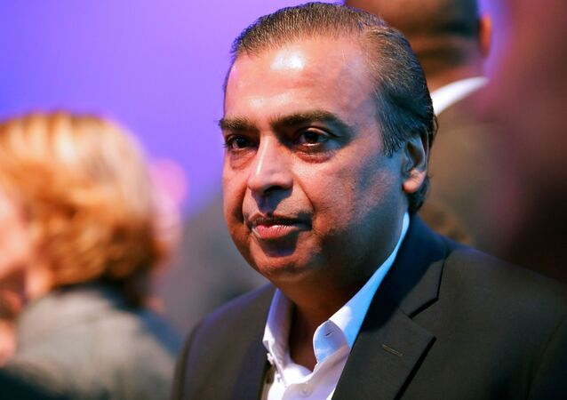 Mukesh Ambani, presidente y director general de Reliance Industries