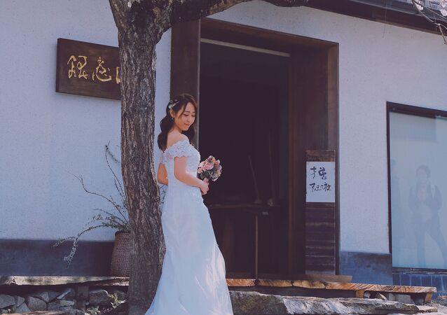 Una novia en Japón (imagen referencial)