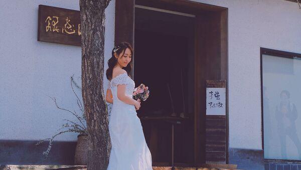 Una novia en Japón (imagen referencial) - Sputnik Mundo