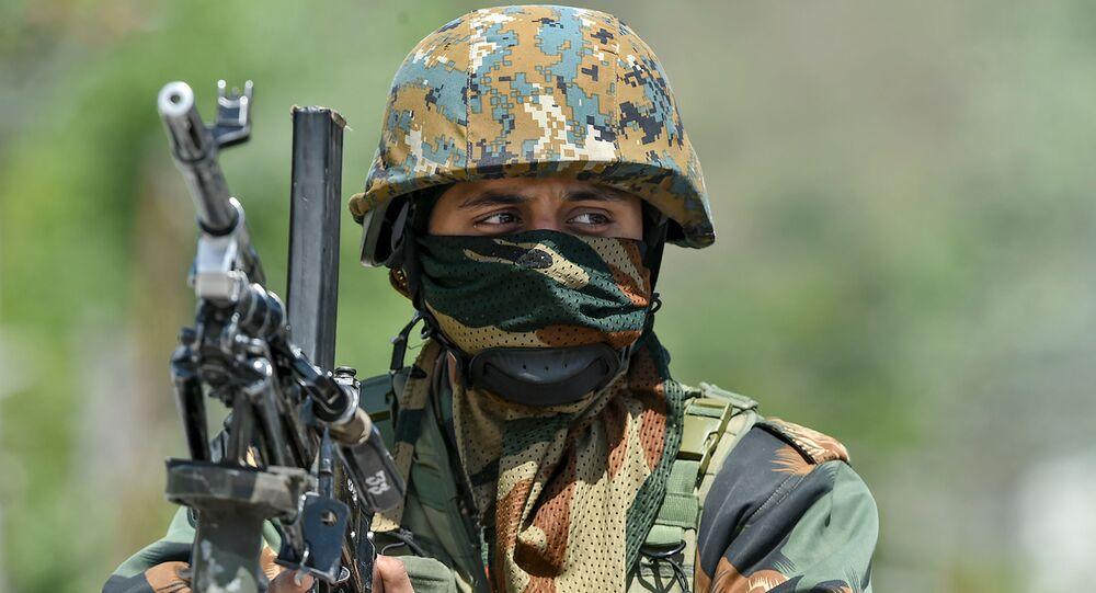 Soldado indio (imagen referencial)