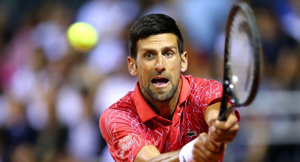 El antivacunas Djokovic dio postivo por Coronavirus