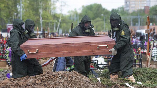 Funeral en Rusia (imagen referencial) - Sputnik Mundo
